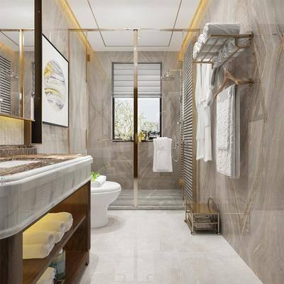 卫浴, 卫生间, 现代卫生间, 淋浴间