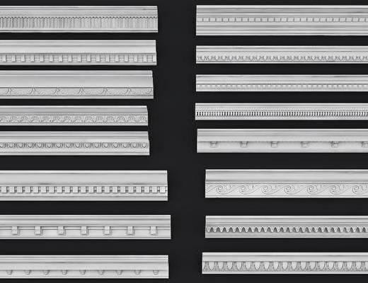 欧式石膏线, 线条, 石膏线, 欧式