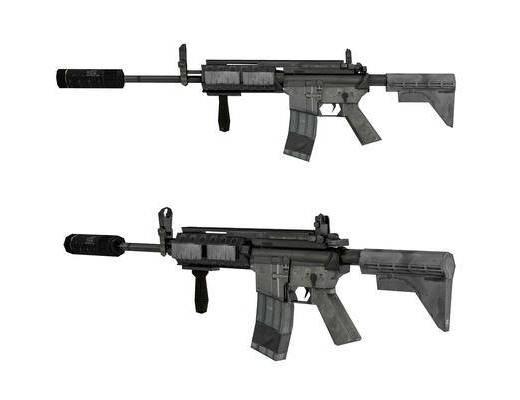 现代, 自动步枪, 单体