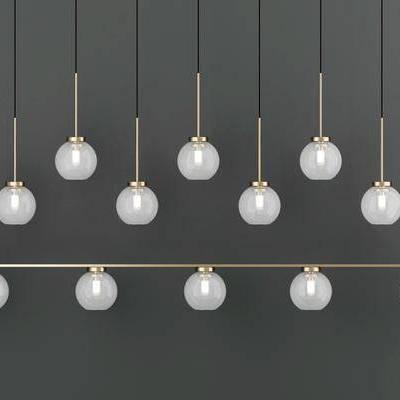 吊灯, 金属吊灯, 现代吊灯