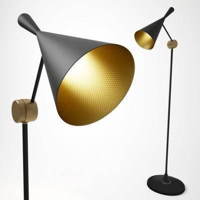落地灯, 灯, 支架, 现代