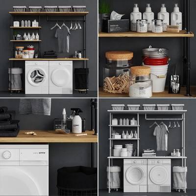 洗衣, 服饰, 衣架, 现代洗衣机服饰衣架, 现代