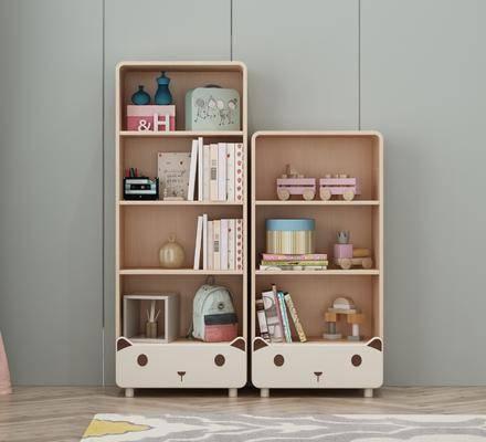 书柜, 柜架组合, 置物柜