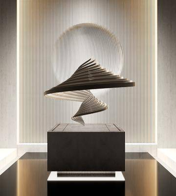 现代艺术雕塑摆件