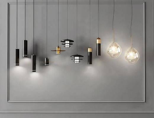 吊灯, 灯具组合, 吊灯组合, 灯饰