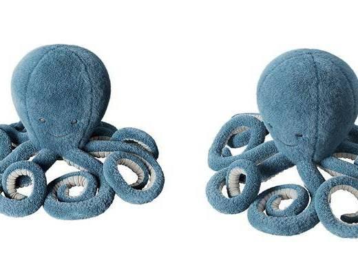现代, 章鱼, 玩具