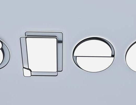 现代吸顶灯