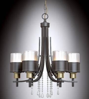 吊灯, 金属吊灯, 灯