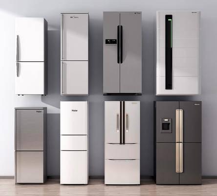 冰箱, 冰柜, 双开门
