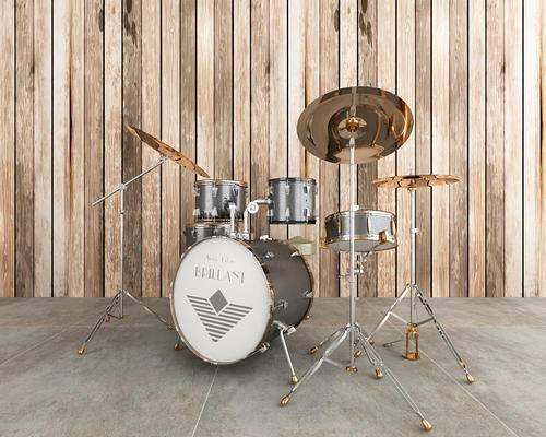 音乐设施, 乐器组合, 鼓架