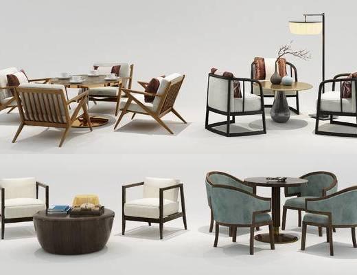 中式, 休闲, 桌椅, 休闲桌椅, 中式休闲桌椅