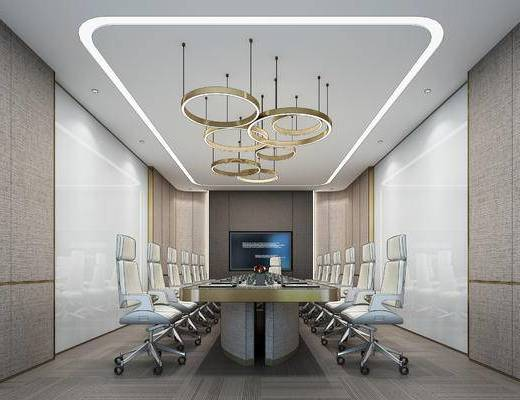 会议室, 办公, 办公椅, 会议桌