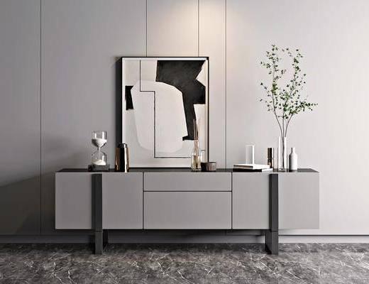 现代, 电视柜, 柜架, 组合