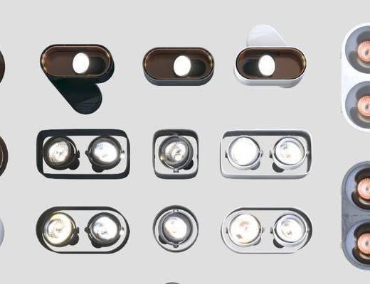 筒灯, 射灯, 灯具, 灯饰