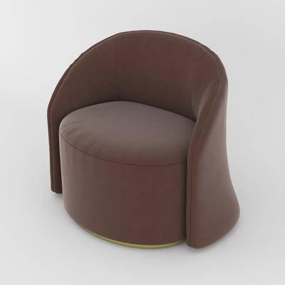现代单人沙发座椅, 现代, 单人沙发, 座椅