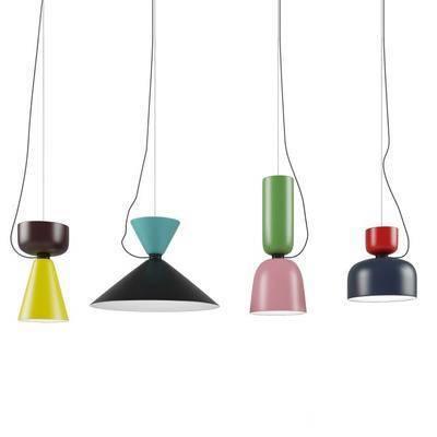 吊灯, 现代, 组合吊灯