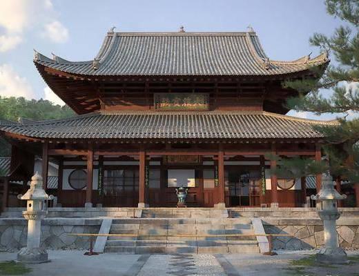 古建筑, 门面门头, 中式古建筑