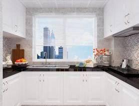 现代, 简约, 橱柜, 厨房