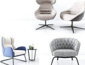 现代简约, 椅子, 沙发茶几组合