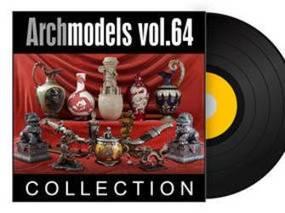 陈设品, 摆件, 摆设, Evermotion, Archmodels, EV