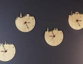 时钟, 陈列品