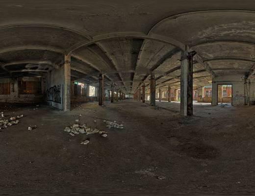 地下室HDR全景贴图
