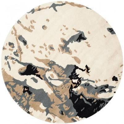 圆形地毯, 欧式地毯
