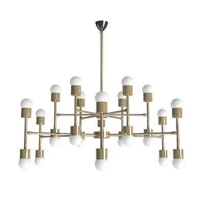 现代吊灯, 金属吊灯, 轻奢吊灯, 吊灯