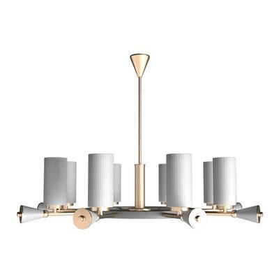 现代吊灯, 吊灯, 金属吊灯, 轻奢吊灯