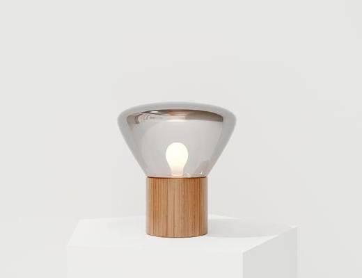 现代台灯, 木质台灯, 台灯, 玻璃台灯