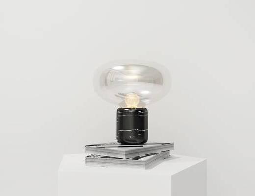现代台灯, 圆形台灯, 台灯