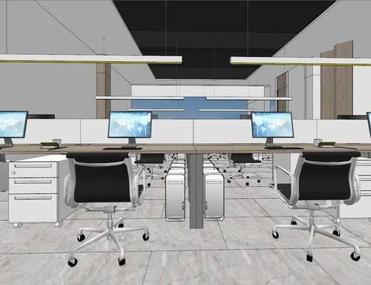 辦公室, 桌椅組合, 現代, 禪意, 會議室, 大堂