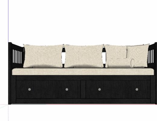 新中式, 沙發組合, 擺件組合, 裝飾, 軟裝