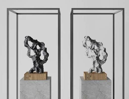 新中式雕塑, 雕塑飾品, 雕塑, 飾品
