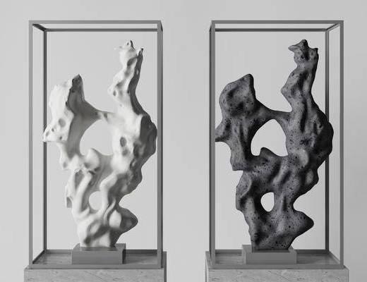 新中式雕塑, 雕塑, 饰品, 雕塑雕刻