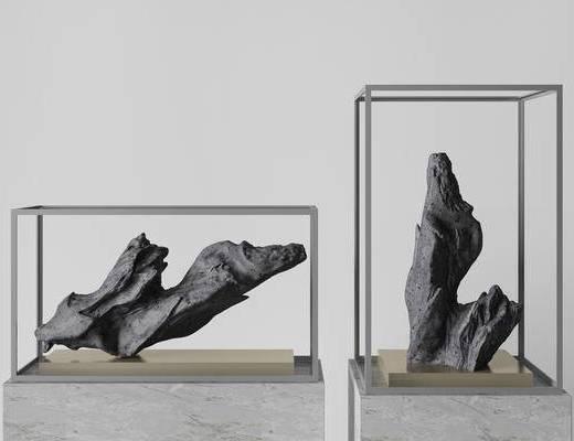 新中式雕塑, 饰品, 雕塑, 雕塑雕刻