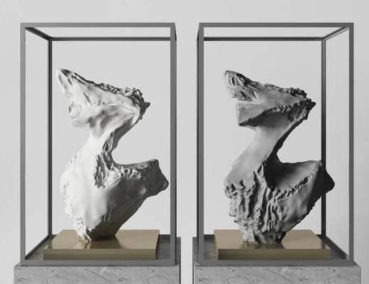 新中式雕塑, 雕塑雕刻, 饰品, 雕塑