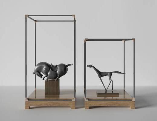 新中式雕塑, 雕塑雕刻, 雕刻, 飾品