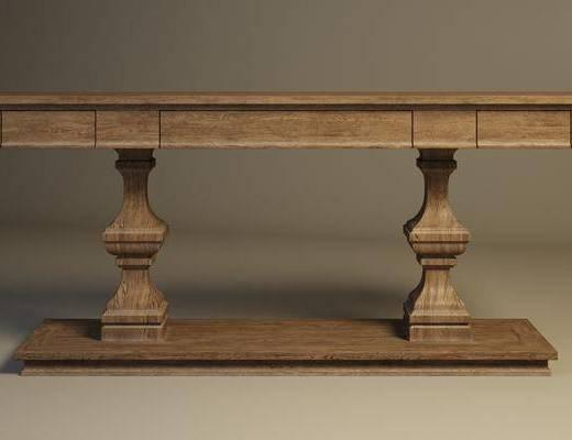 古典餐桌, 餐桌, 桌子