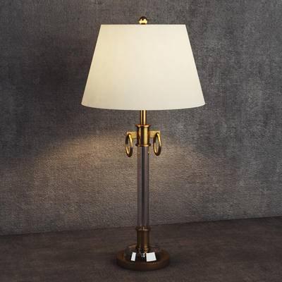 美式台灯, 复古台灯, 台灯