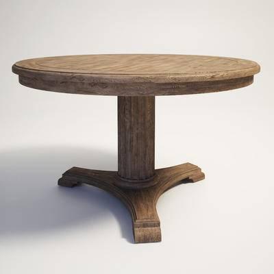 美式桌子, 复古桌子, 桌子
