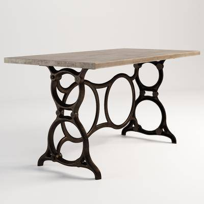 美式边桌, 古典边桌, 边桌