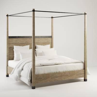 美式双人床, 古典双人床, 双人床