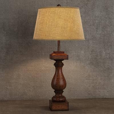 美式台灯, 台灯