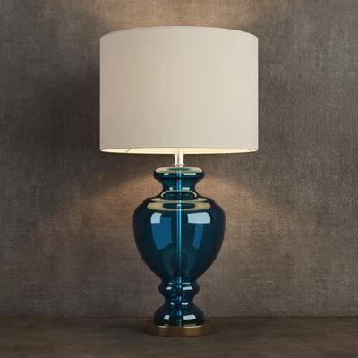 新中式台灯, 台灯