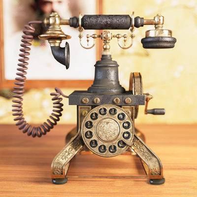 美式電話, 電話, 復古電話