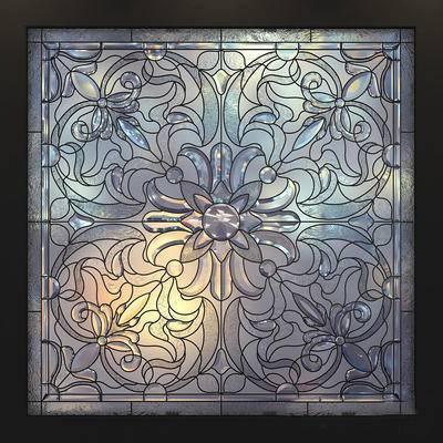 歐式玻璃窗, 玻璃窗