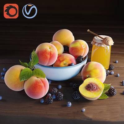 桃子, 水果