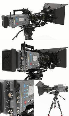 现代摄影机, 摄影机