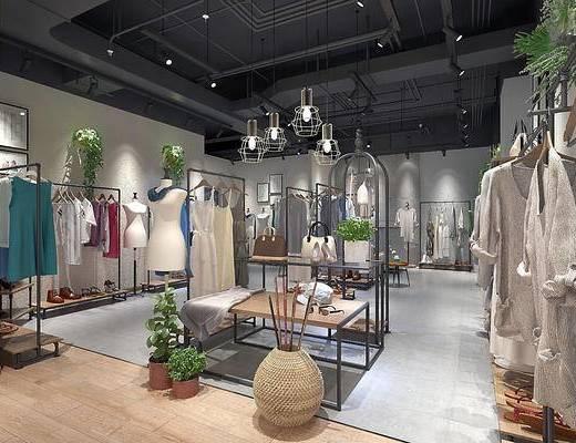 现代服装店, 服装店